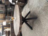 Metal Mango Eettafel rond 150cm_