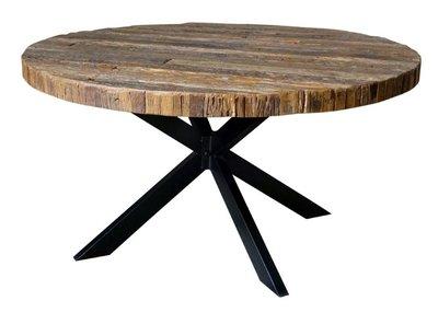 Metal Mango Eettafel rond 130cm