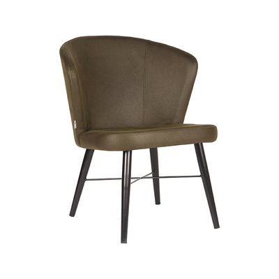 LABEL51 - Fauteuil Wave - Microvezel - Army