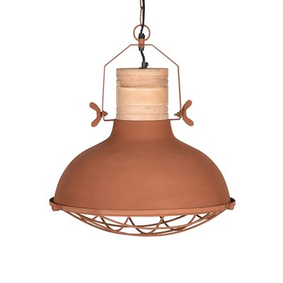 LABEL51 - Hanglamp Grid - Rust - Mangohout - 52 cm