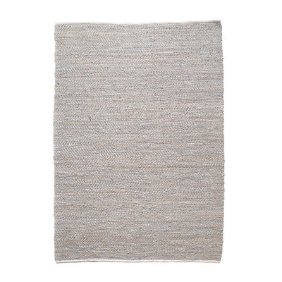 Carpet Sisal leather 60x120 cm - nature
