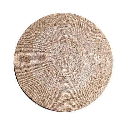 Carpet Jute round 120 cm - natural