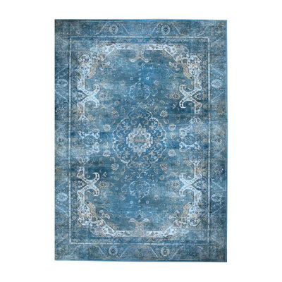 Carpet Liv 160x230 cm - turqoise