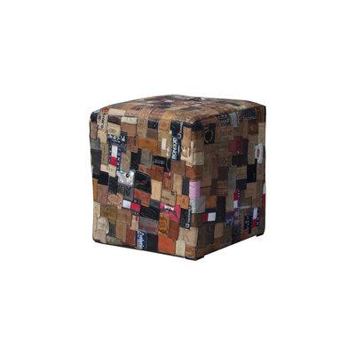 Pouf Labels 43x43x43 cm