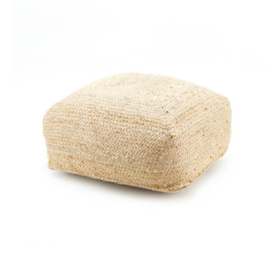 Floorpillow Jute 60x60 cm - natural