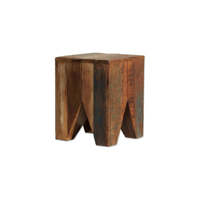Stool Wood square