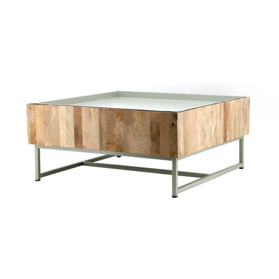 Coffeetable Hopper 82x82 diverse kleuren