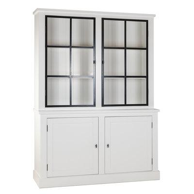 Buffetkast Knox 2x2-deuren (metalen deuren)