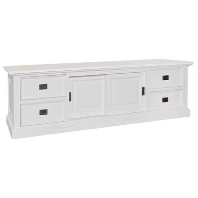 TV-dressoir Provence 2x2-laden 2-deuren