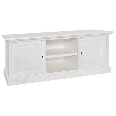TV-dressoir Provence 2-deuren + open vak