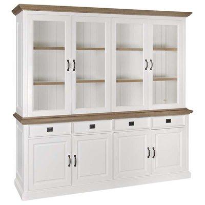 Buffetkast oakdale 2x4-deurs 4-laden