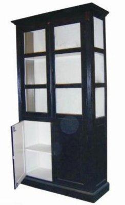 Vitrinekast 4 deur