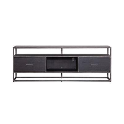 tv meubel  Hudson 2 laden 150 cm zwart