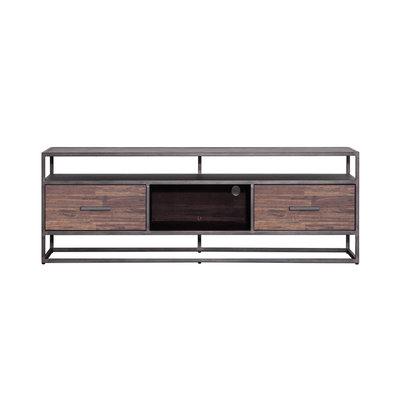 tv meubel  Hudson 2 laden 150 cm bruin