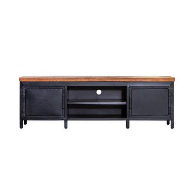 Tv meubel industrieel  2 lade