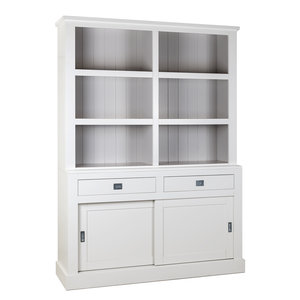 Boekenkast Boxx 2-deuren 2-laden